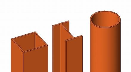 鉄骨柱の基本形状